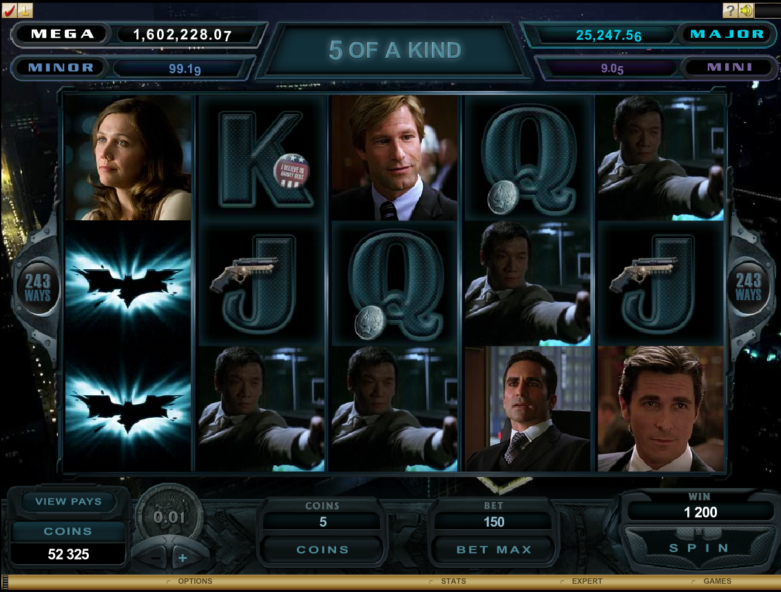 Batman Slot Machine Game