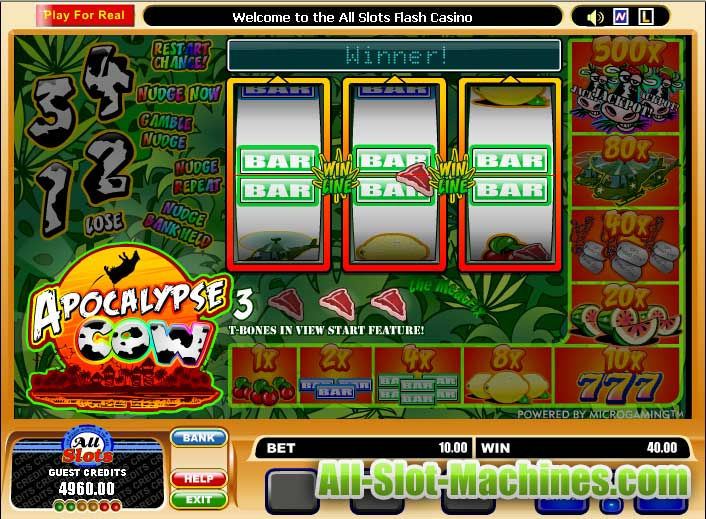 Apocalyse Cow Themed Slot