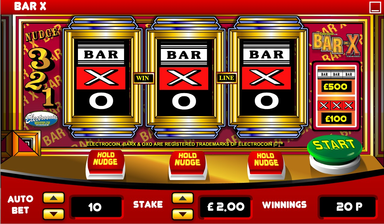 Bar-x Slot Machine