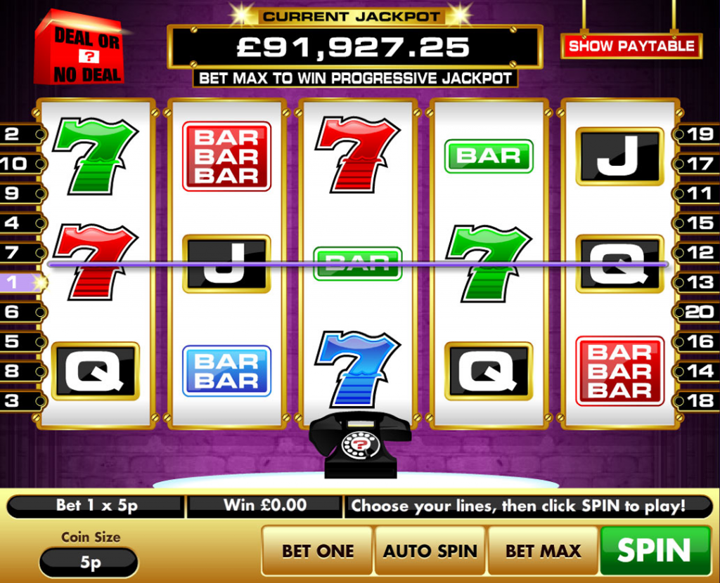 dealornodeal slots