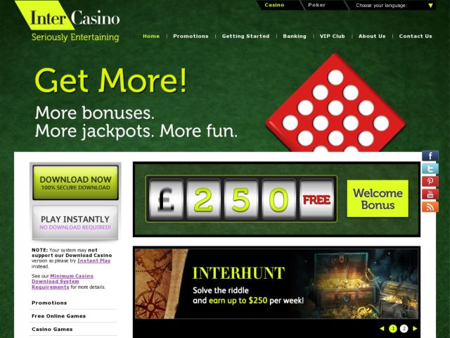 Intercasino reviews cheat online casino blackjack