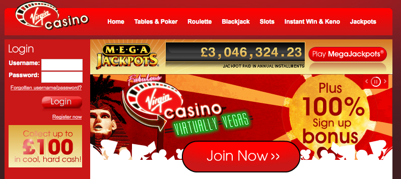 slots virgin casino