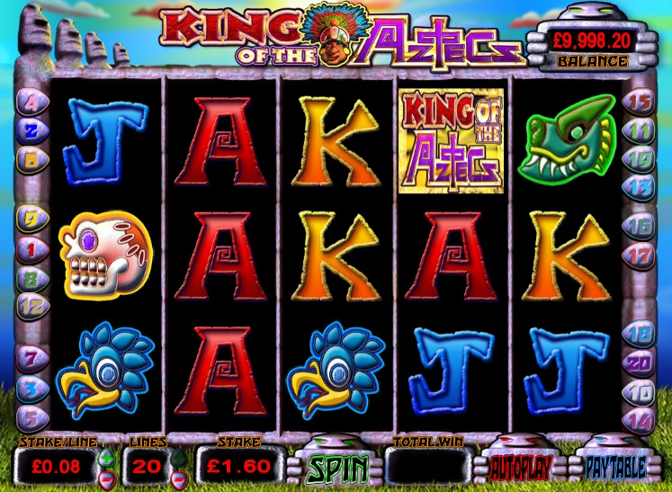 King of the Aztecs Slot Machine