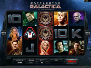 Battlestar Galatica Themed Slot