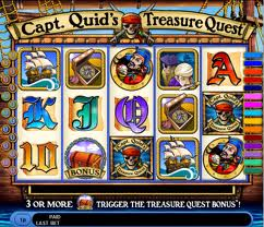 Captain Quid's Treasure Themed Slot