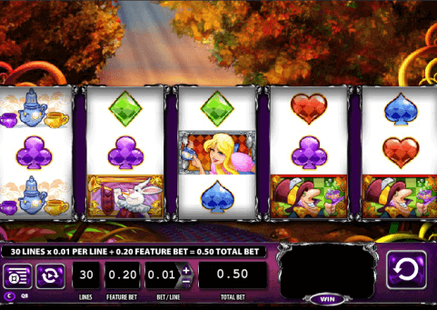 Alice and The Mad Tea Party Slot Game