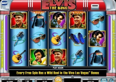 Elvis : The King Slot