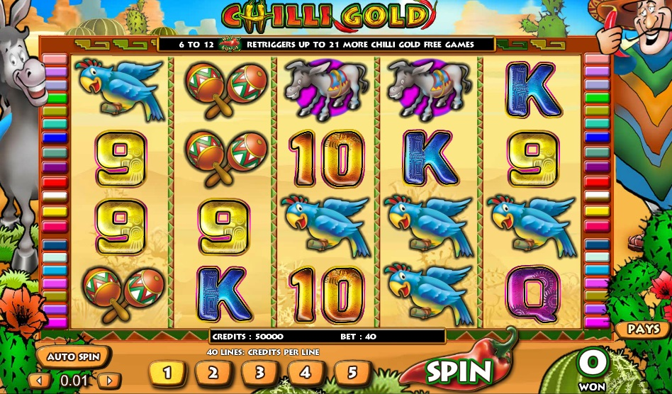 Chilli Gold Video Slot