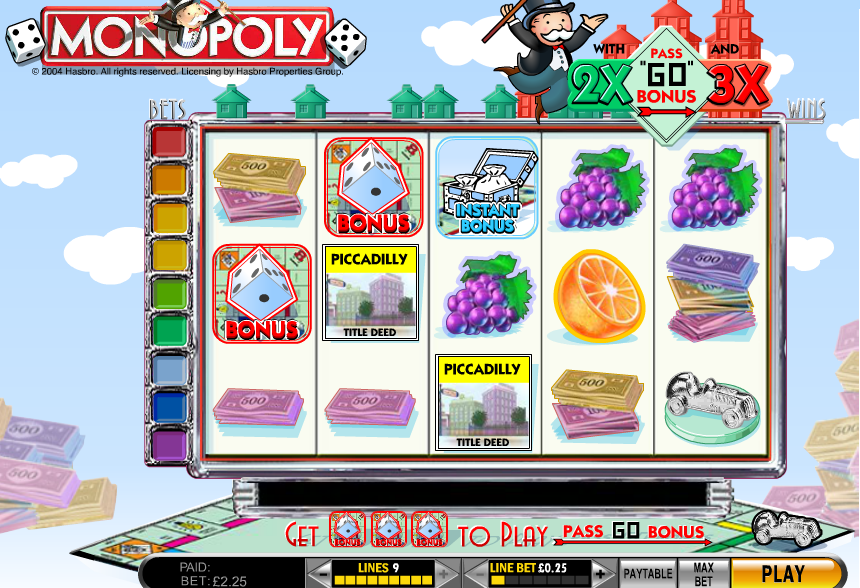 Monopoly Fruit Machine