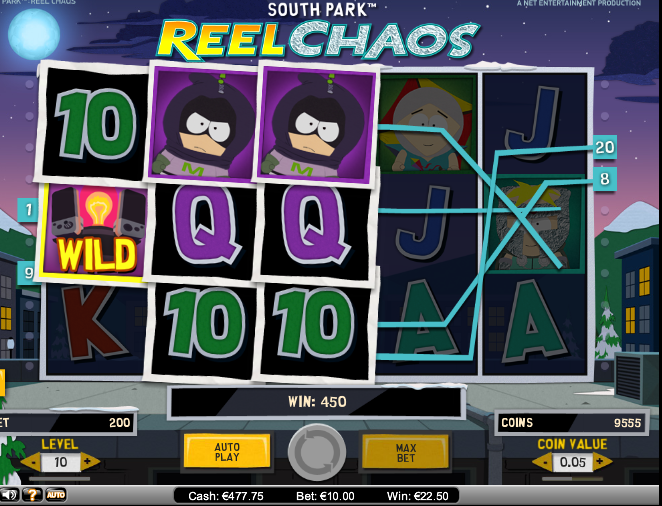 South Park Reel Chaos Slot Game