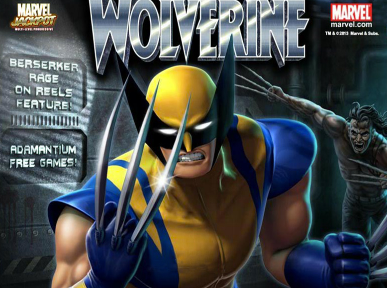 Wolverine Marvel Slot by Platech