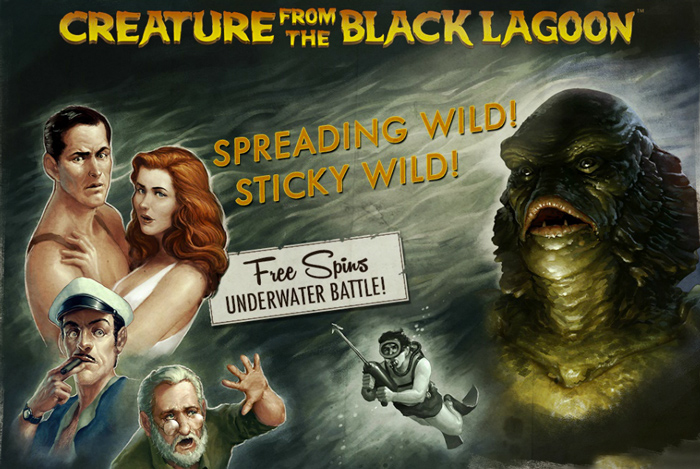 Creature from the Black Lagoon Slot by Net Ent