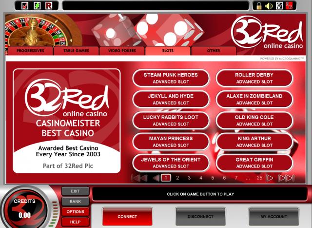 32 Red Casino Slots
