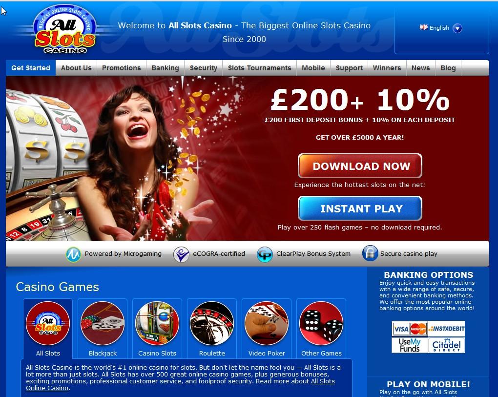 AllSlots Casino Slots