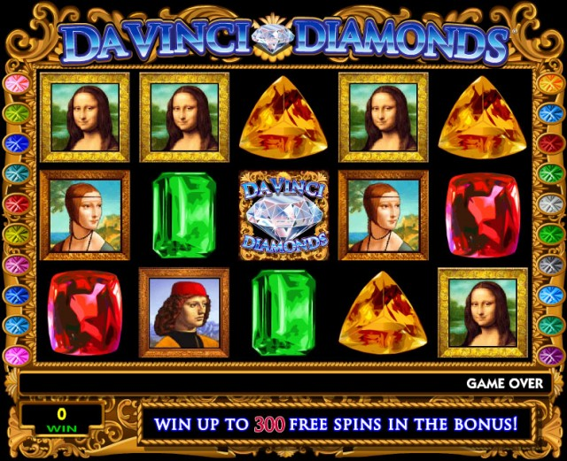 Da Vinci Diamond Slot