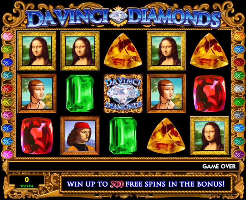 Da Vinci Diamond Slot
