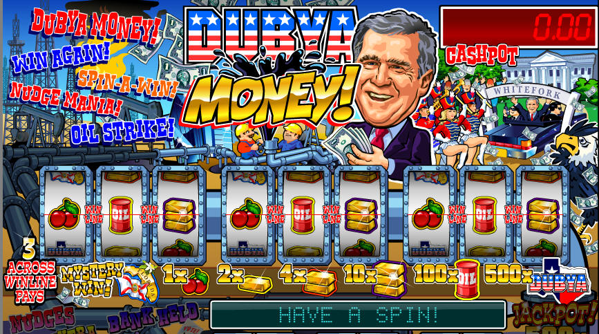 Dubya Money Pub Style Fruit Machine