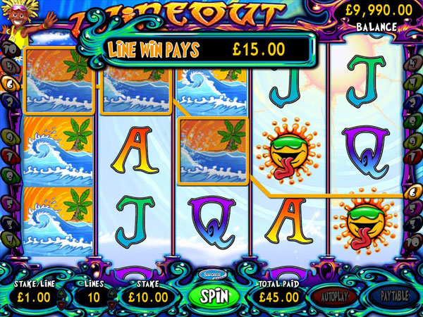 Wipeout Slots Online