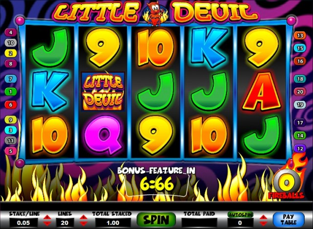 Little Devil Bonus Slot