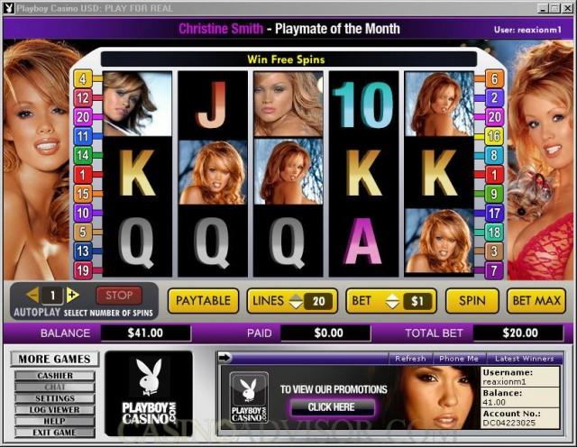 Playboy Casino Slot Games
