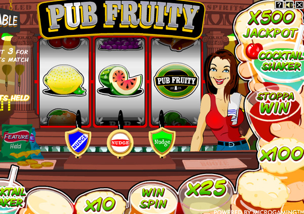 Pub Fruity Slot Machine