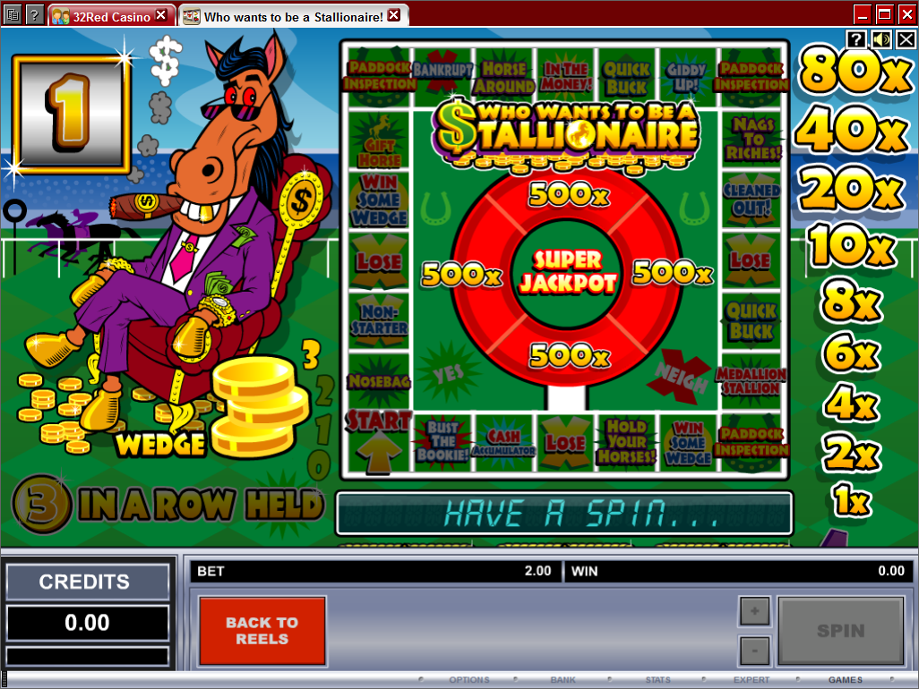 Stallionaire Pub Fruit Machine
