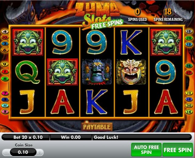 Zuma Line Slot Machine