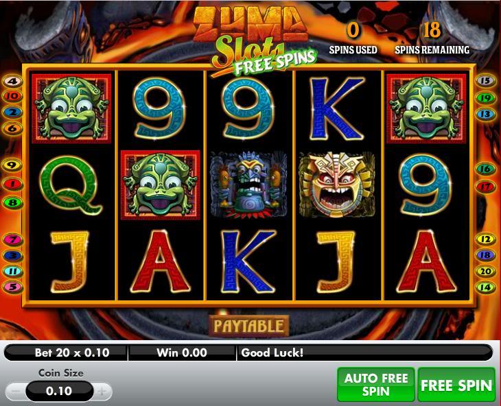 Zuma Line Slot Machine