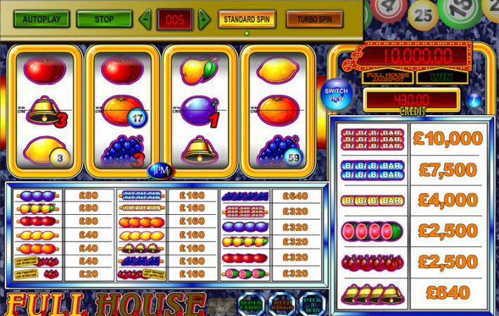 JPM Full House Casino Slots