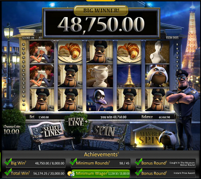One Night in Paris Slot