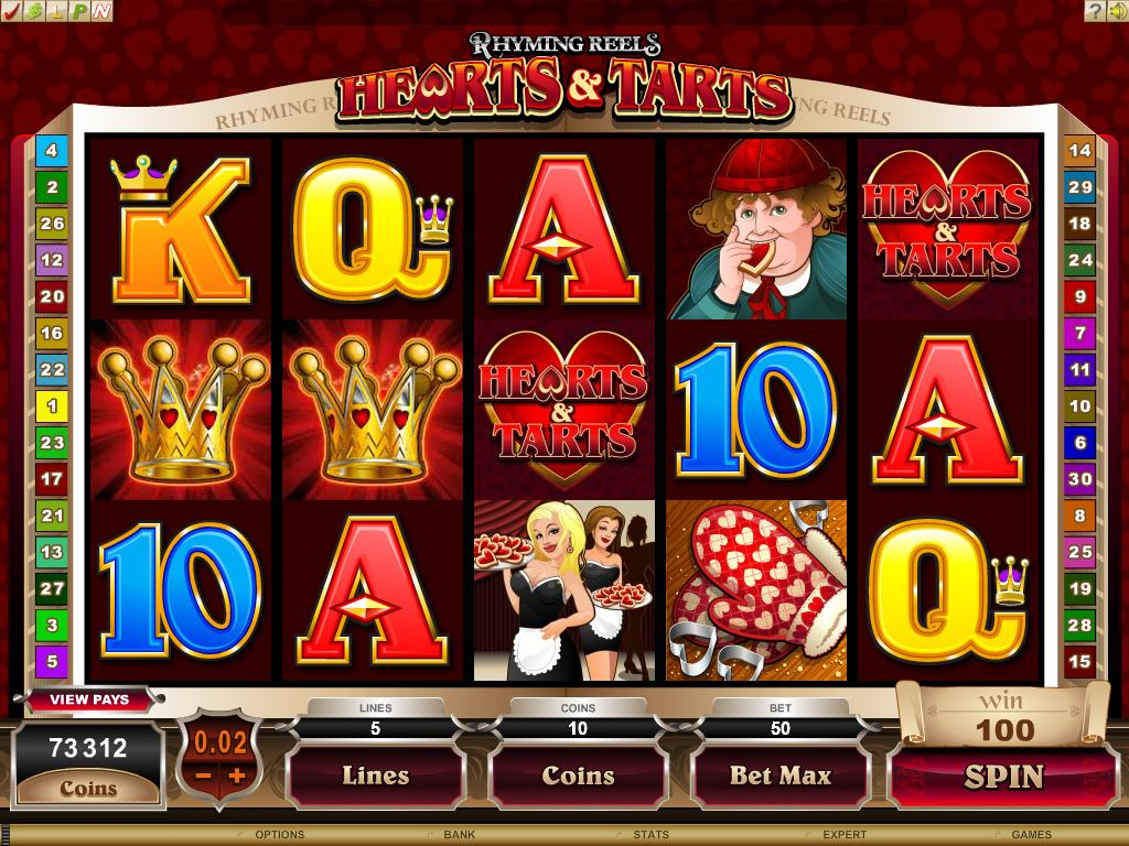 Hearts and Tarts Slot