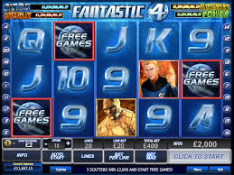 Fantastic 4 Online Slots Game