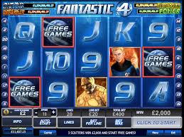 Fantastic 4 Online Slots Game