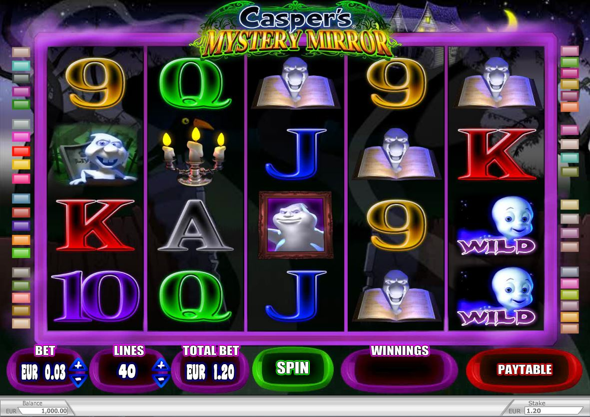 Casper Mystery Mirror Slot Game