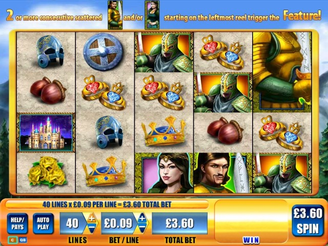Lancelot Video Slot