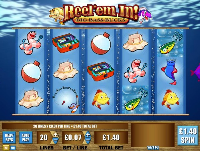 Reel 'Em In – Big Bass Bucks Slots