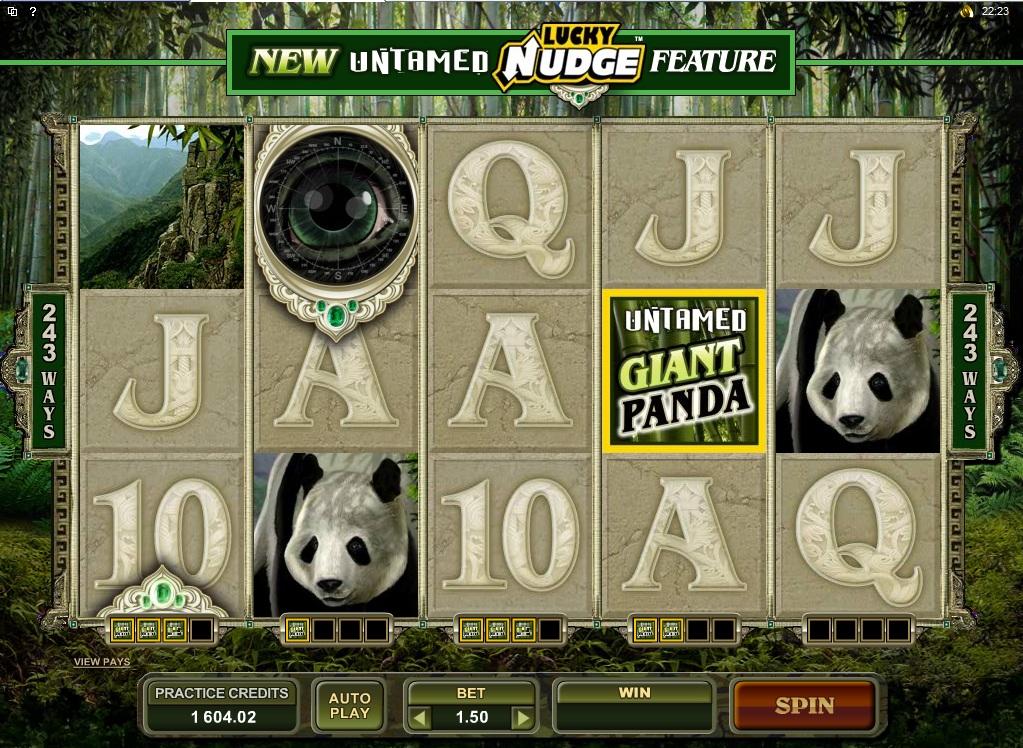Untamed Giant Panda Slots
