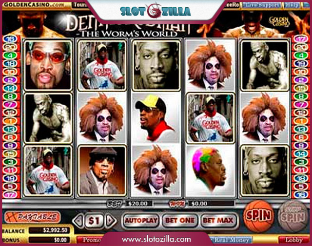 Dennis Rodman Slot Game
