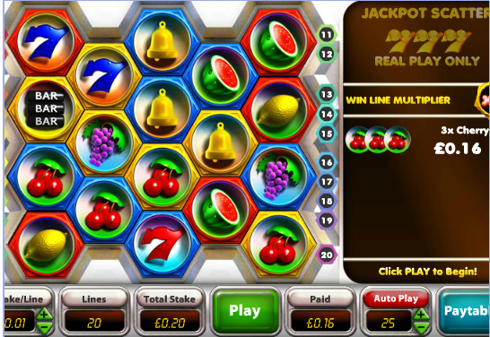 Cash Drop Fruit Machine